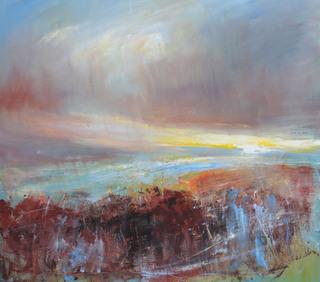 Bracken At Sunset Near Morvah by Chris Hankey