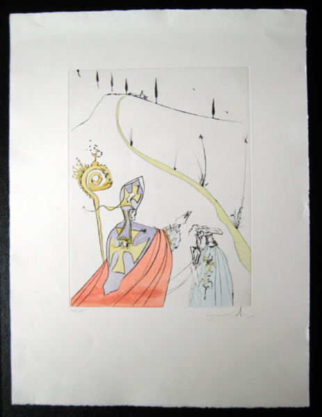 The sacred love of Gala by Salvador Dalí