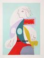 Femme à la Robe Multicolore by Picasso Estate Collection