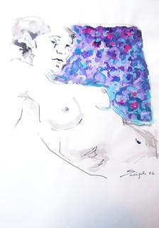 NUDE LAVENDER by Raquel Sara Sarangello
