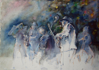jazz concert by Juan Félix Campos