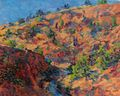 Rio Grande, color studies in a canyon de Alain Lutz