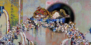 As the interdimensional waves run through me, I can distinguish between the voices of angel and devil! by Takashi Murakami