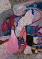 The pink bottles by Inga Erina