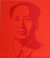 Mao 3 by Andy Warhol