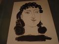 Picasso Heliogravure Female Portrait by Pablo Picasso