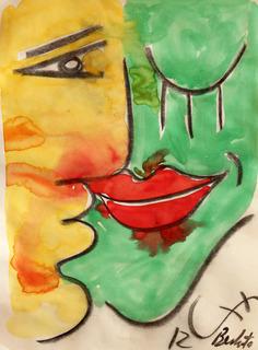 THE KISS 32 by Jorge Berlato