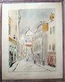 Calle en París de Maurice Utrillo