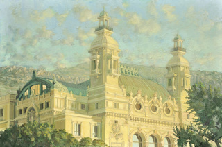 View of the Casino from the Promenade by Pip Todd Warmoth