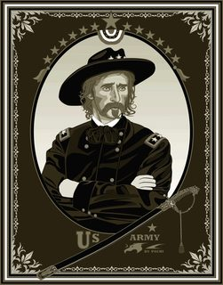 General Custer banner (size XXXXXL) by PACHI
