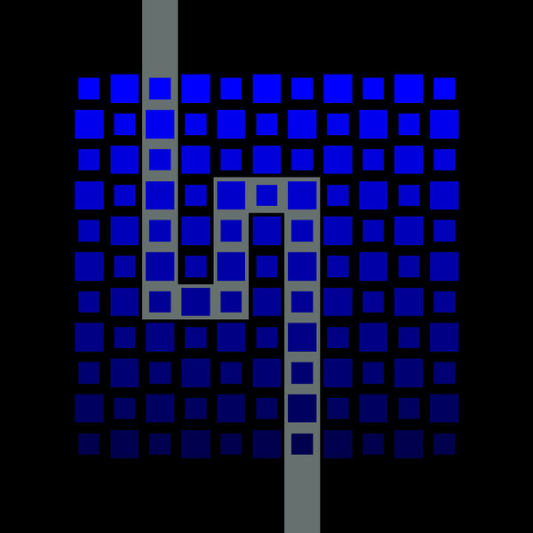 Cartesian rhythm 7 by Vlatko Ceric