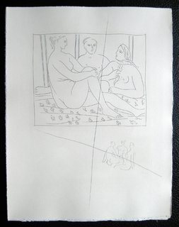 Trois femmes Nues by Pablo Picasso