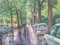 In Paris after a rain by Moti Lorber