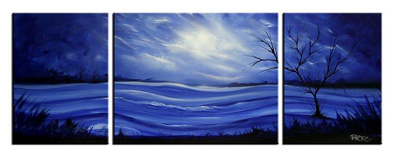 Landscape 292 Original Art By Theo Dapore Picassomio