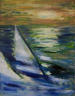 Sailing by Scott Andrew Spencer