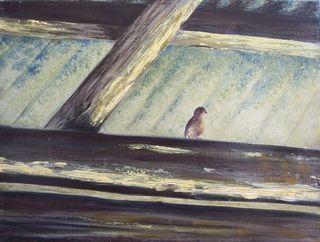 Little sparrow by Rosario de Mattos