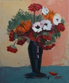 Flowers in a vase by Denitsa Kaneva