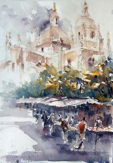 Segovia Flea Market by Juan Félix Campos