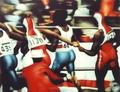 The race by Leopoldo Fernández
