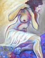 NUDE PAINTING Sophie by Raquel Sara Sarangello