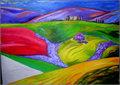 Landscape Art by Raquel Sara Sarangello