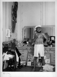 Picasso Popeye... Cannes, 1957 by Pablo Picasso