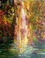waterfall by Sylva Zalmanson