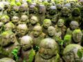 Serie Japan / Autumm'09: Moss Buddhas by Sonia A. Alzola