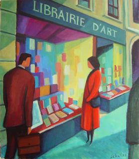 Librairie d' art à Lyon by Guillermo Martí Ceballos