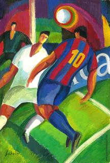 Barça Campió ! by Guillermo Martí Ceballos