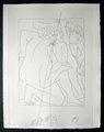 Deucalion et Pyrrha creent un Nouveau Genre Humain by Pablo Picasso