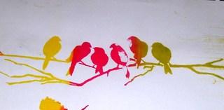 BIRDS by Raquel Sara Sarangello