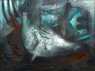 Hen by Carlos Rafael Uribazo Garrido