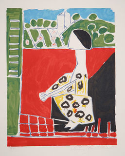 Femme Accroupie by Picasso Estate Collection