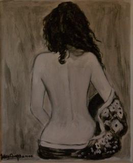 Desnudo con mandil by Marga Camps