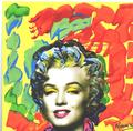 Pop Marilyn grafitti by Marco Mark