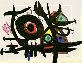Oiseau Destructeur by Joan Miró