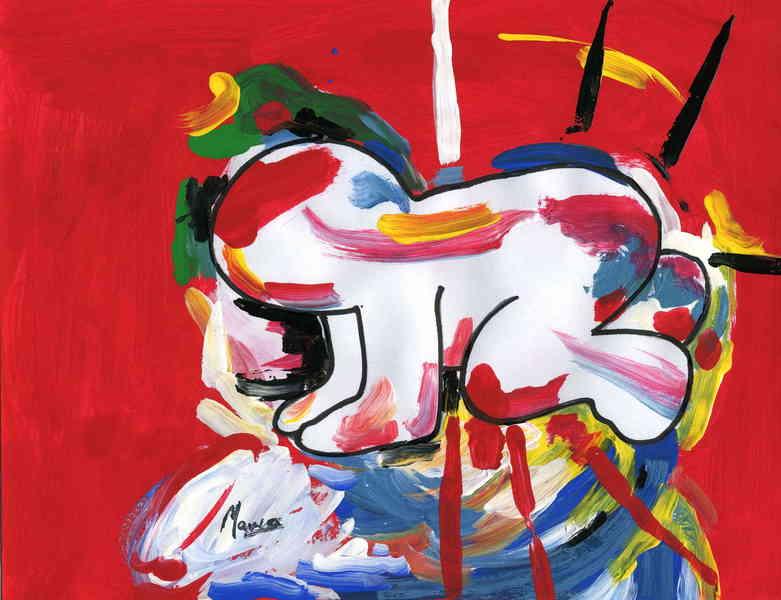 Baby Picasso Original Art By Marco Mark Picassomio