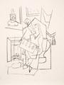 Femme dans un Fauteuil by Picasso Estate Collection