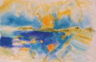Veilish Point North Uist Sunset by Chris Hankey
