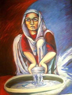 WOMAN ORIENT by Raquel Sara Sarangello