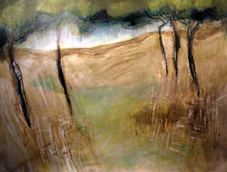 Abstracting pines by Alex Mackenzie