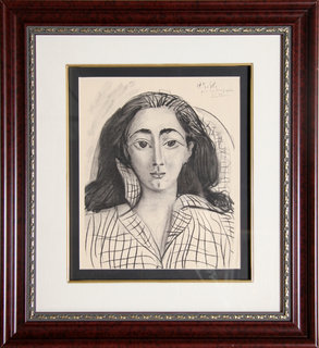Jacqueline by Pablo Picasso