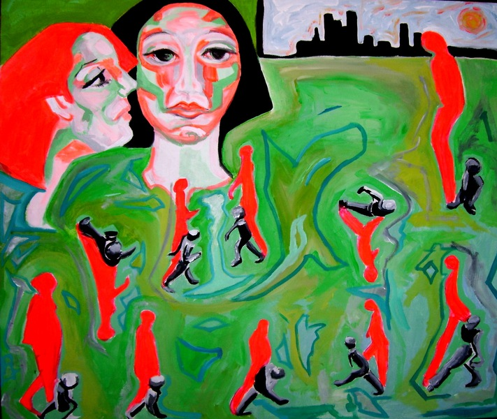PEOPLE by Raquel Sara Sarangello