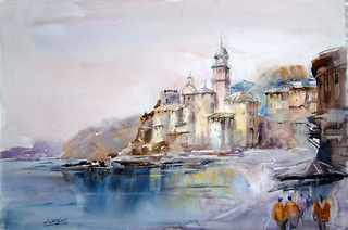 Camogli - Italy by Juan Félix Campos