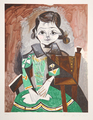 Petite Fille à la Robe Verte by Picasso Estate Collection