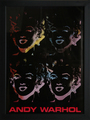 Four Marilyns by Andy Warhol