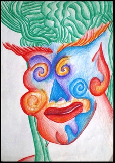 clown by Nicolás Romano