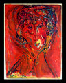 Woman Under Red Sky by Eric Henty