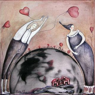 elephants bring luck by Mariela Dimitrova MARA